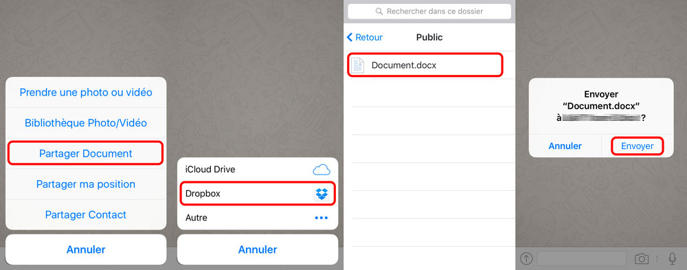 whatsapp partage document microsoft office WhatsApp supporte lenvoi de documents Microsoft Office et de PDF