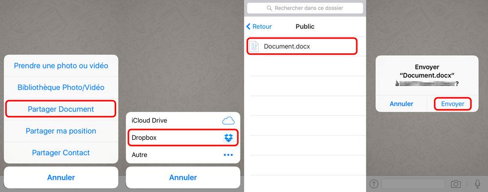 whatsapp partage document microsoft office WhatsApp supporte lenvoi de documents Microsoft Office et de PDF