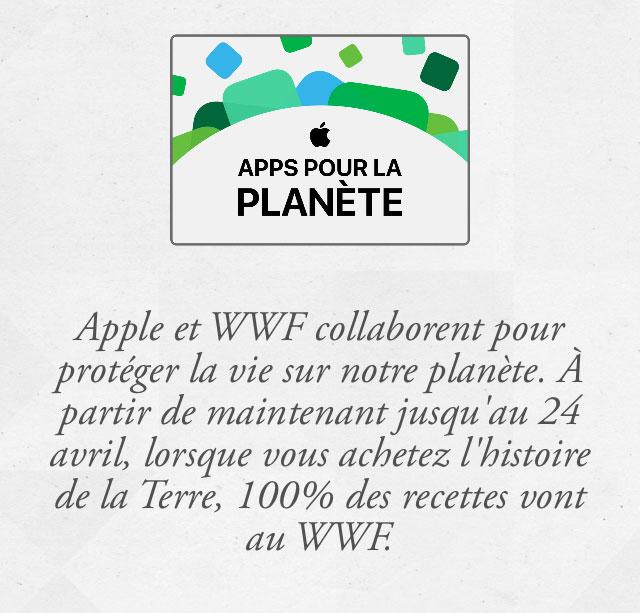 wwf 3 Apple propose des applications pour financer le WWF