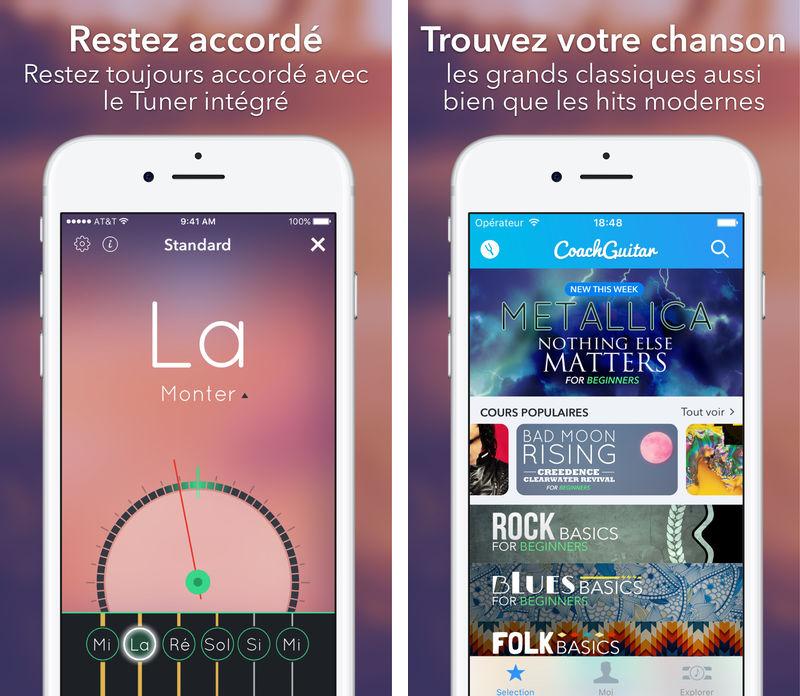 CoachGuitar CoachGuitar : lapplication qui vous permet dapprendre la guitare sur iPhone et iPad