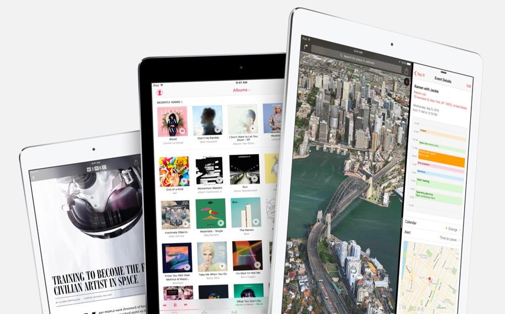 ios 9 3 2 iOS 9.3.2 : corrections de bogues et blocage de certains iPad Pro 9,7 pouces