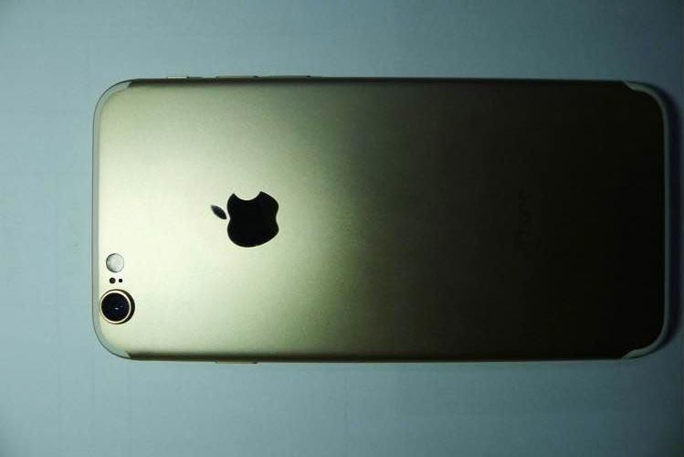 iphone 7 gold iPhone 7 : de nouvelles photos en fuite !