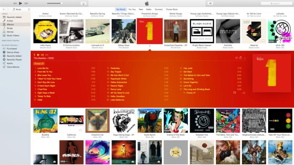 itunes 12 4 iTunes 12.4 : des changements au niveau de linterface et de la navigation