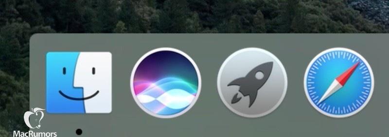 siri dock 1012 Siri débarquera finalement sur Mac avec OS X 10.12