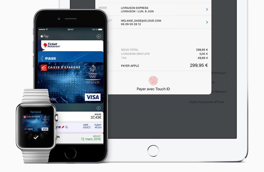 apple pay fr Apple Pay fait son arrivée en Irlande et sera bientôt lancé en Italie