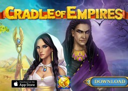 Cradle of Empires : un jeu de match-3 dans l'Egypte antique