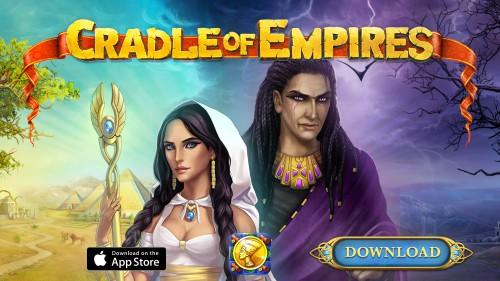 cradle of empires 500x281 Cradle of Empires : un jeu de match 3 dans lEgypte antique