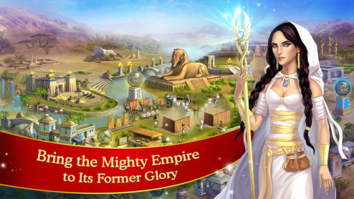 Cradle of Empires : un jeu de match 3 dans lEgypte antique