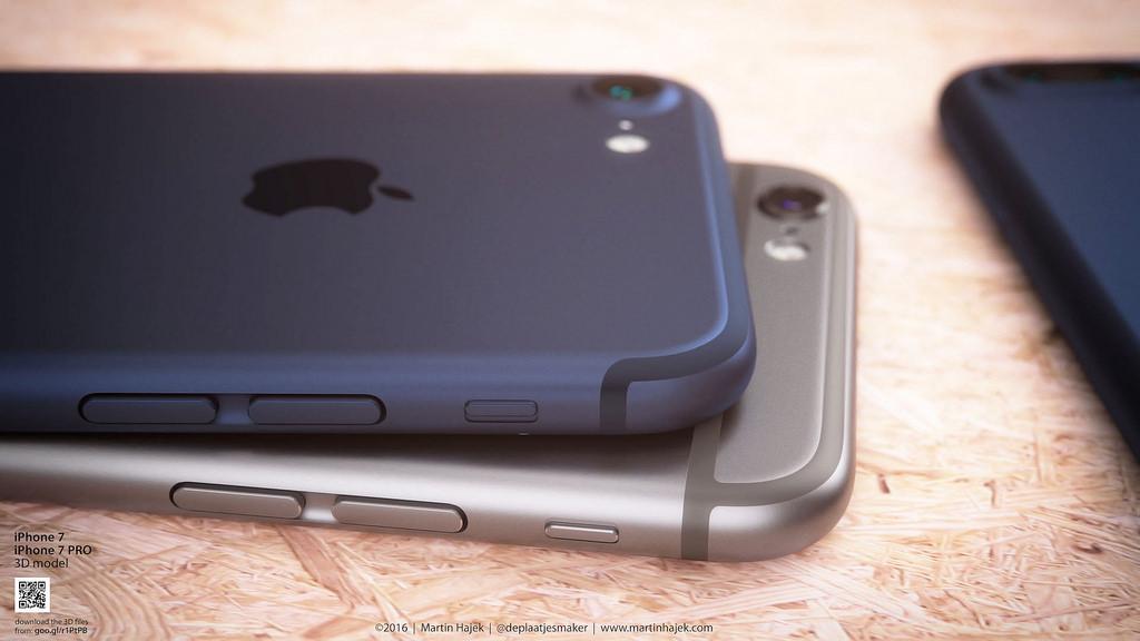 iphone 7 bleu fonce 5 iPhone 7 Bleu foncé : le concept de Martin Hajek