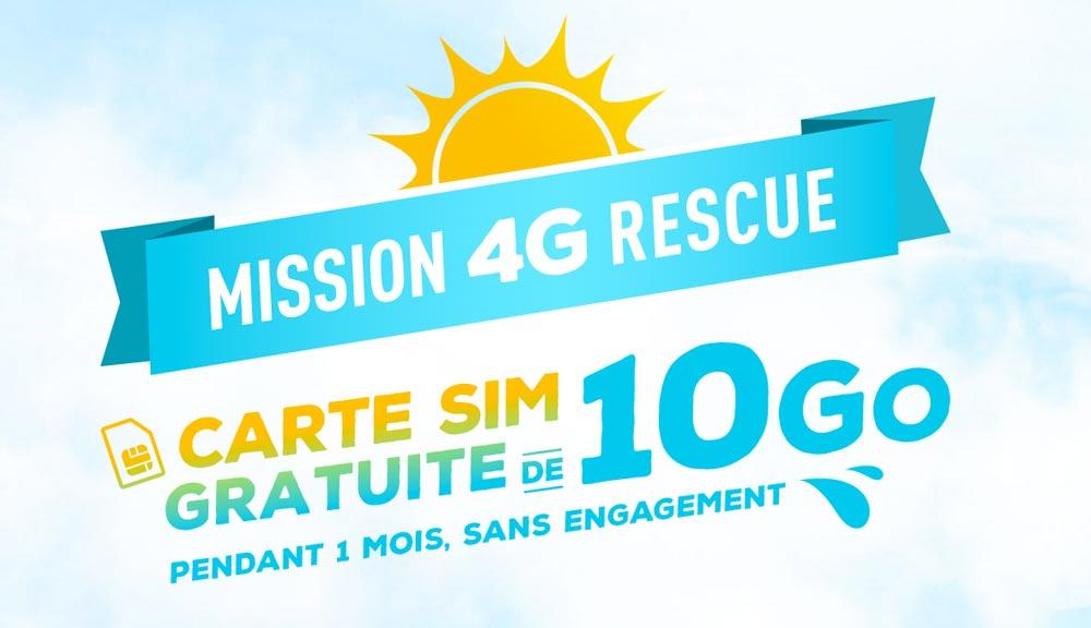 bouygues 10 go 4G gratuit Profitez pendant un mois de 10 Go de 4G gratuite avec Bouygues !