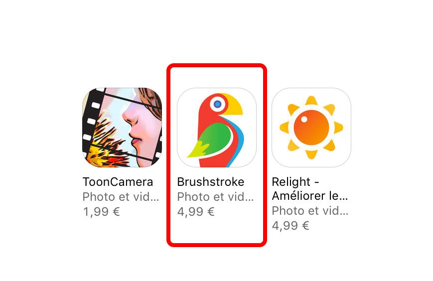 brushstroke offert Apple vous offre lapplication Brushstroke !