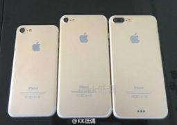 iPhone 7 : une nouvelle photo des 3 modèles !