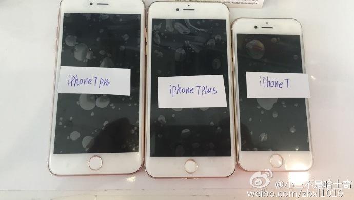 iphone 7 Plus Pro iPhone 7 : des photos supposées des différents 3 modèles