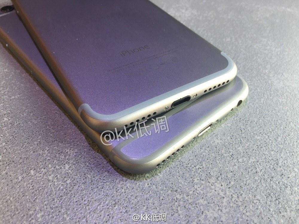 iphone 7 vs iphone 6s 04 iPhone 7 : révélation du design final ?