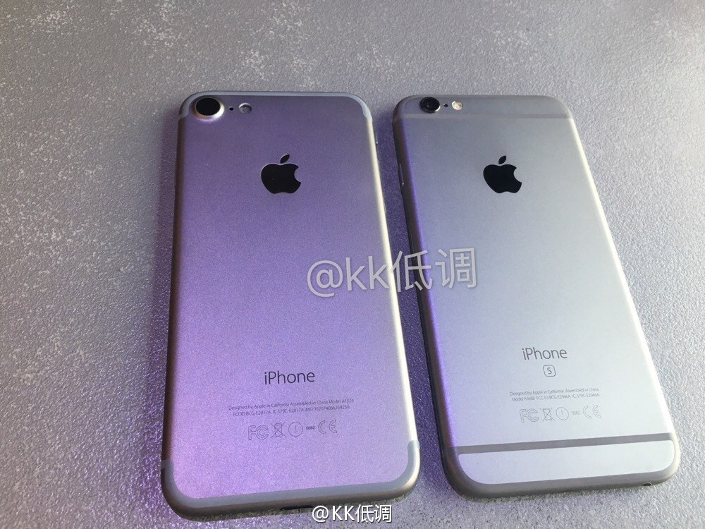 iphone 7 vs iphone 6s 05 iPhone 7 : révélation du design final ?