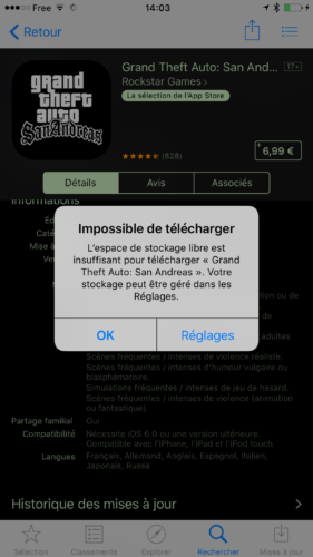 IMG 1543 281x500 Astuce : comment gagner du stockage sur iPhone ?
