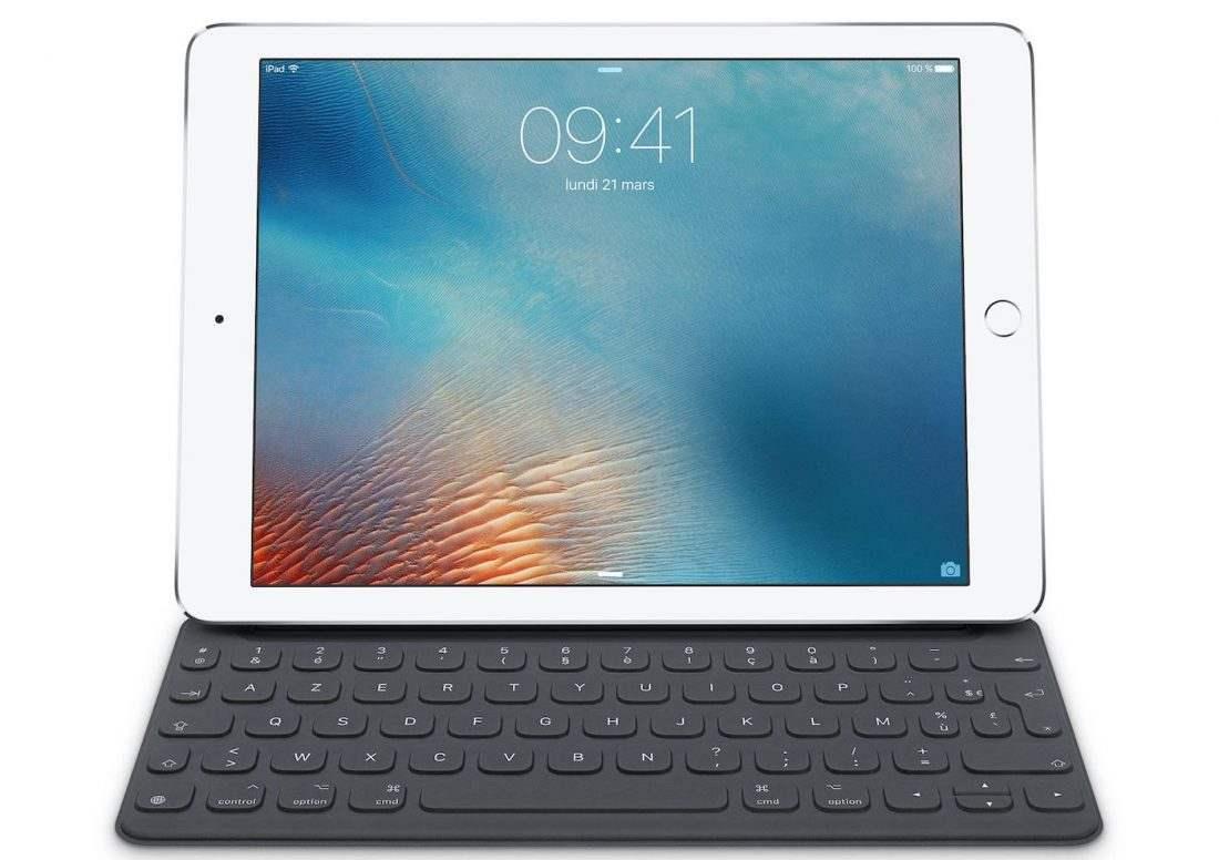 Smart Keyboard iPad Pro AZERTY Le Smart Keyboard de liPad Pro enfin disponible en AZERTY