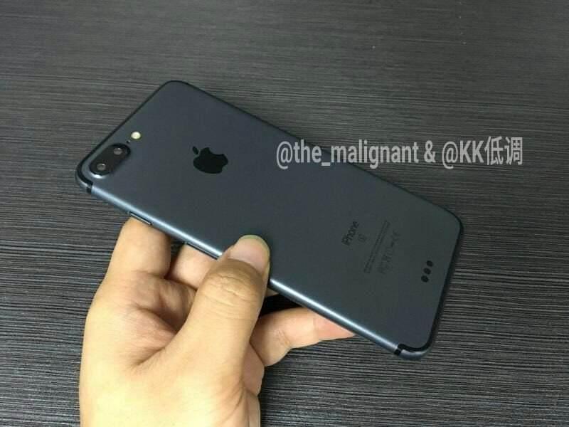 iphone 7 plus noir sideral prototype 2 iPhone 7 Noir sidéral : photos et vidéo dun prototype