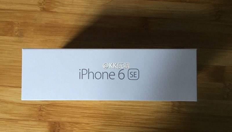 iphone 6se boite fausse 2 iPhone 6 SE : une photo de boîte retouchée fait surface