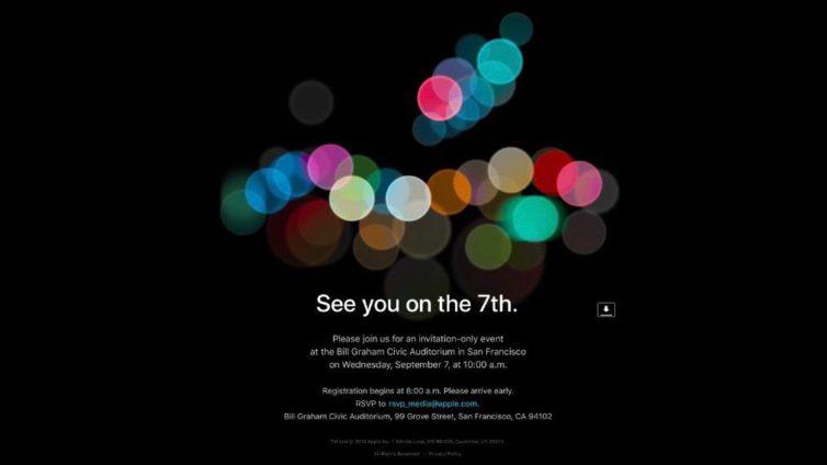 keynote 2016 754x424 Le keynote iPhone 7 sera tenu le 7 septembre prochain !