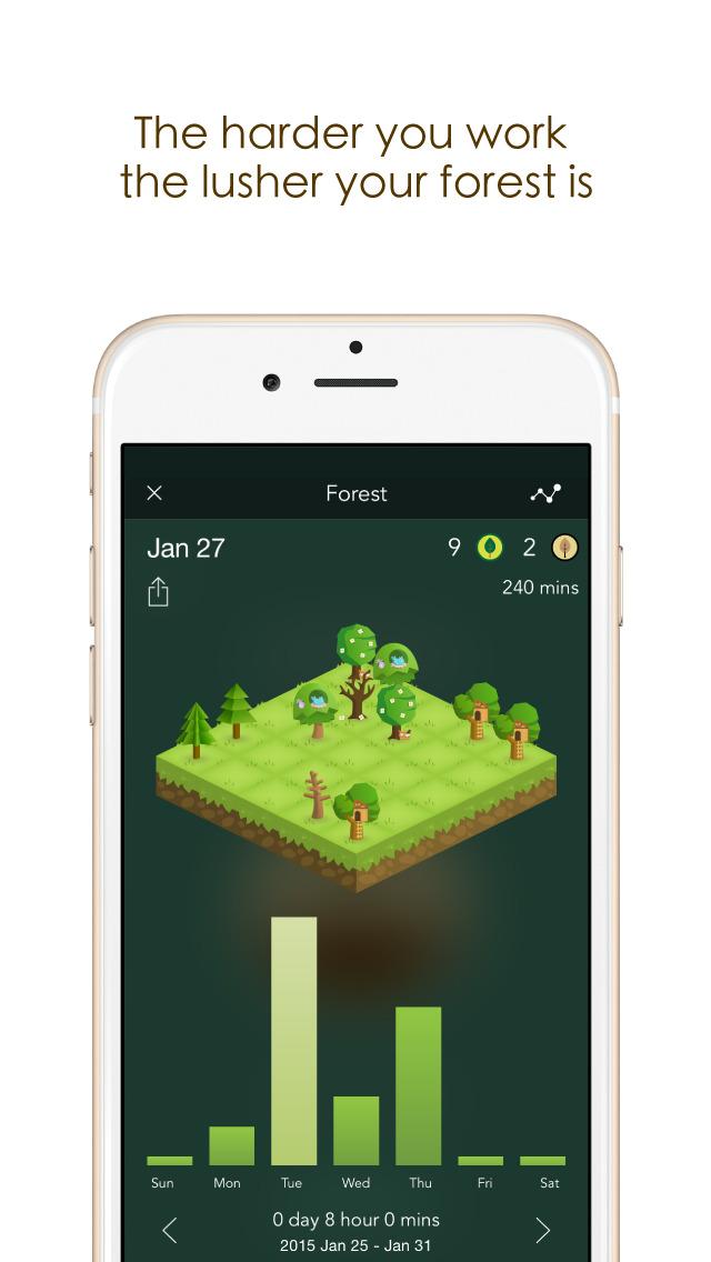 screen forest Étudiant   App Store : les applications indispensables !