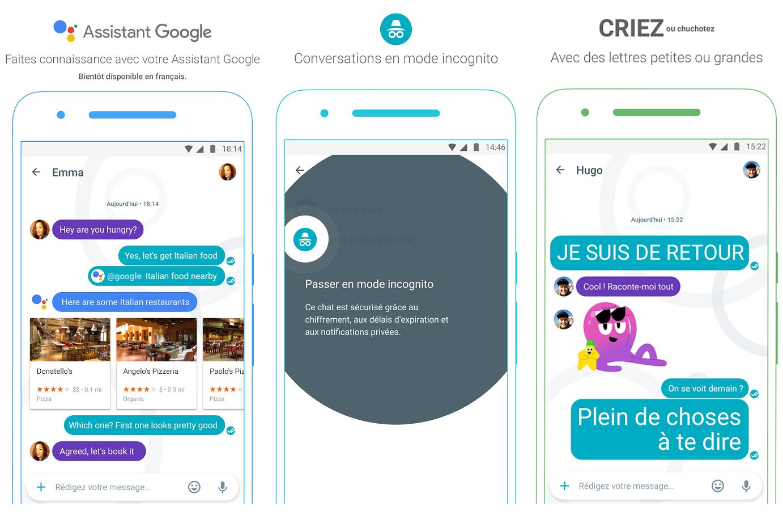 google allo fonctionnalites Google lance Allo, sa nouvelle application de messagerie