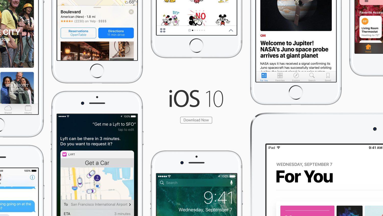 ios 10 iOS 10, watchOS 3 est tvOS 10 sont disponibles !