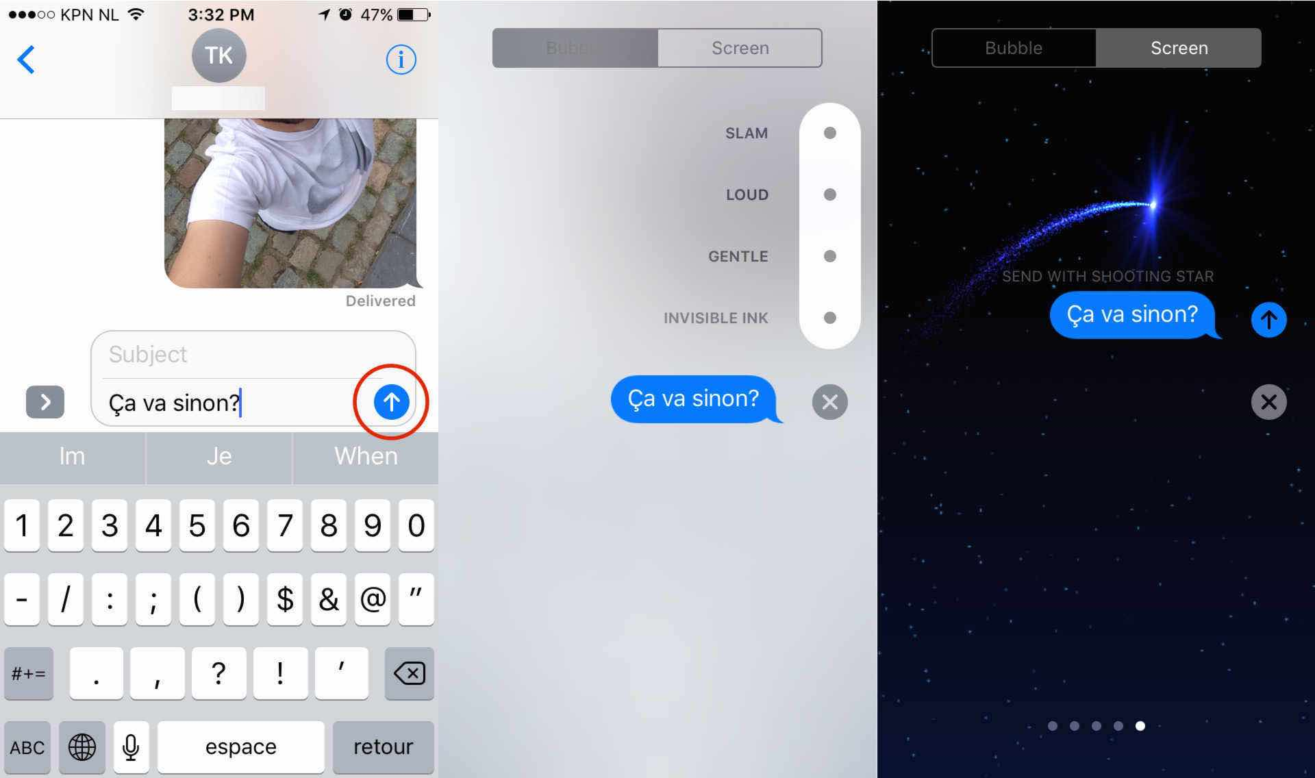 messages effets ecrans ef iOS 10 : 13 astuces pour se simplifier la vie !