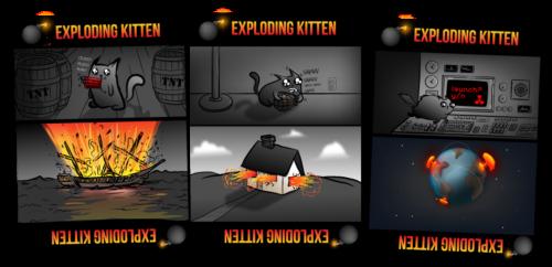 exploding kittens 500x242 Les 5jeux sur mobile les plus ridicules sur le marché