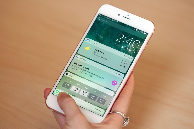ios 10 iOS 10 est installé sur 54% des appareils Apple compatibles