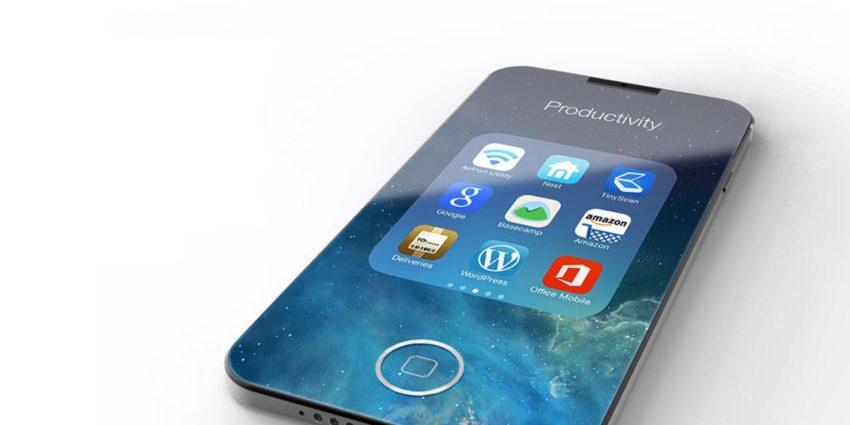 iphone 8 1 e1477414228130 Un dos en verre pour liPhone 8 et en aluminium pour liPhone 7s ?