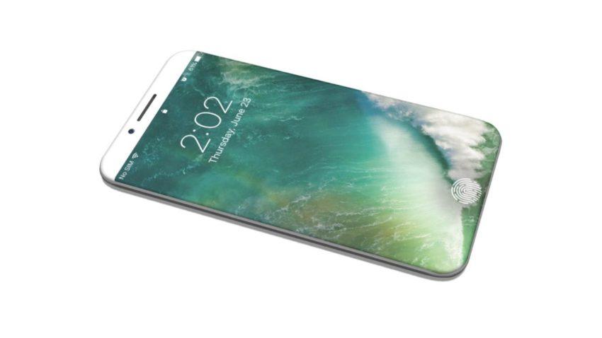 iphone 8 e1475916874564 Brevet : un capteur d'empreintes intégré à l'écran de l'iPhone 8 ?