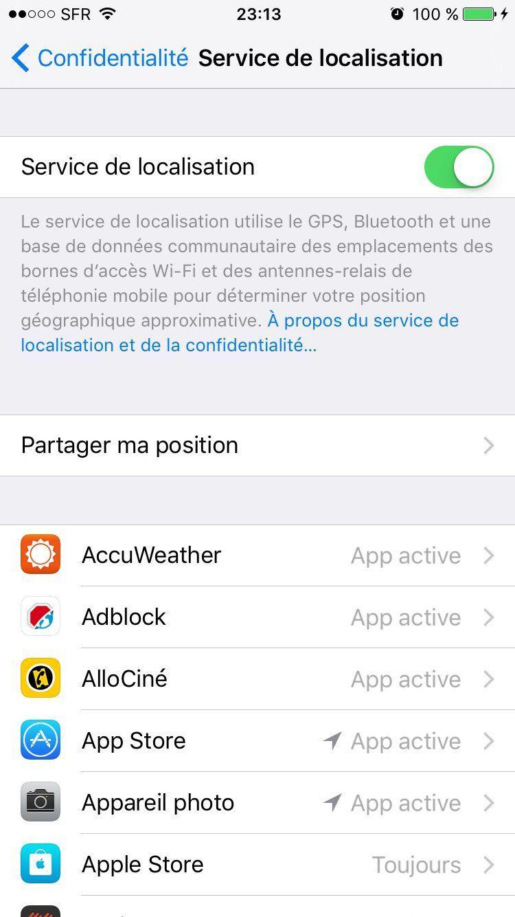 localapp Batterie iPhone 7 : économiser sa charge et augmenter lautonomie