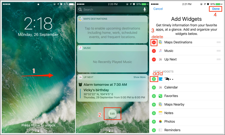 removewidg Batterie iPhone 7 : économiser sa charge et augmenter lautonomie