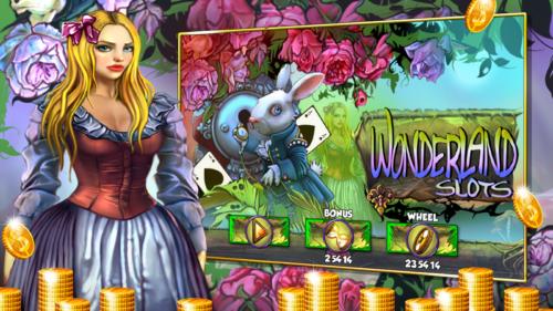 wonderland slot machine 500x281 Les 5jeux sur mobile les plus ridicules sur le marché