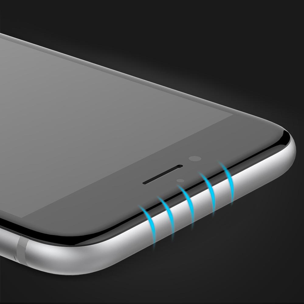 1 4 Protection décran iPhone 7 / 7 Plus intégrale 3D incurvée (App4Shop)