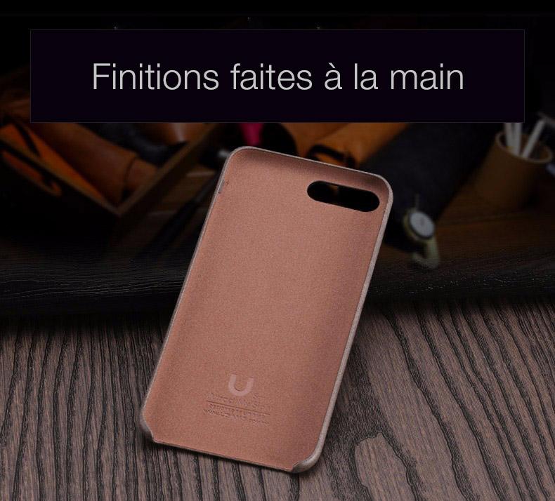 2 1 Coque en cuir pour iPhone 7 et 7 Plus (App4Shop)