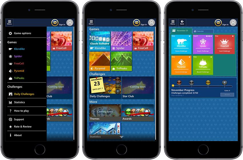 Le Solitaire de Microsoft débarque sur iOS et Android