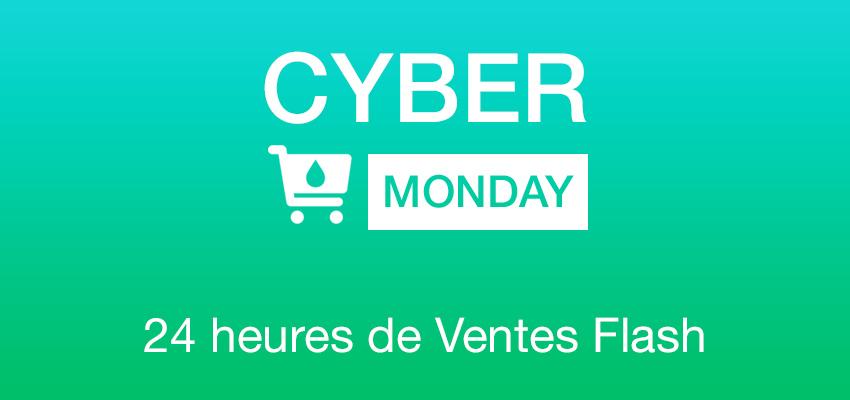 cyber monday CYBER MONDAY 24h sur la boutique App4Shop (jusquà  50%)
