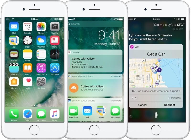 iOS 10 iOS 10.3 comble plusieurs failles de sécurité dont une majeure