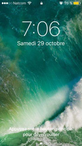 img 8686 282x500 iOS 10 : tour dhorizon sur le nouveau mode de déverrouillage