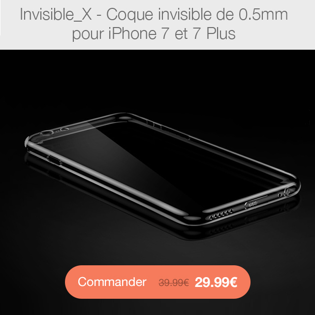 invisibleX i7 CYBER MONDAY 24h sur la boutique App4Shop (jusquà  50%)