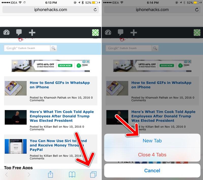 safari tab switchr Tutoriel : ouvrir un onglet rapidement sur Safari pour iPhone