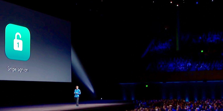 Apple active la fonction Single Sign-On sur iOS et tvOS