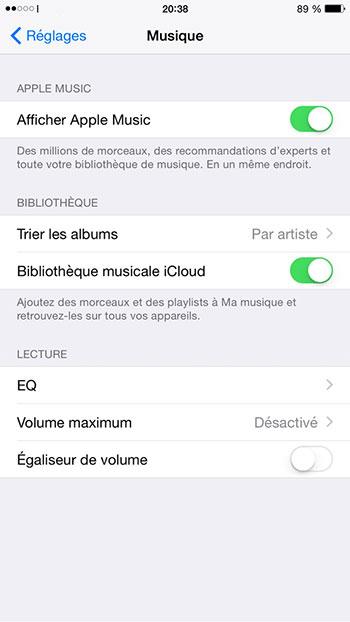 stockage iphone sature Stockage iPhone saturé : Libérer de l'espace grâce à la bibliothèque musicale