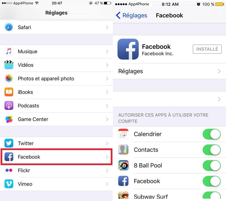 Sans titre 1 Messenger : supprimer les contacts avec qui vous nêtes pas amis