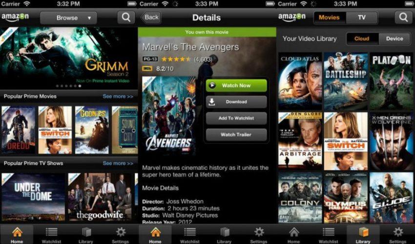 amazon prime video Amazon Prime Video est disponible sur lApp Store iOS