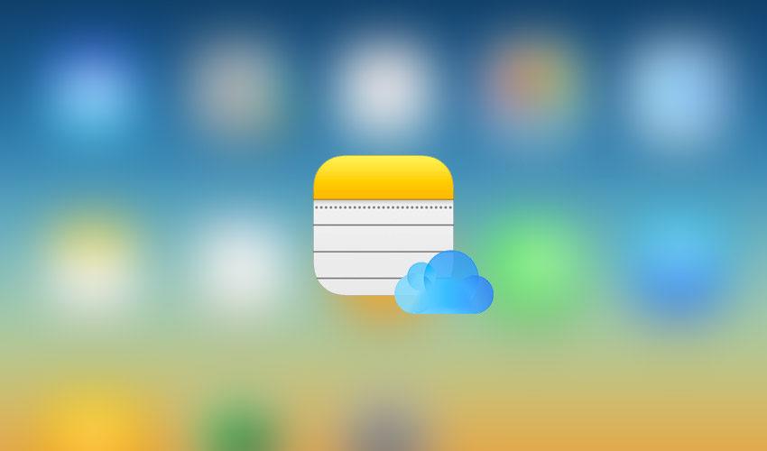 icloud notes sync 2 850x500 Notes iCloud : comment régler le problème de synchronisation