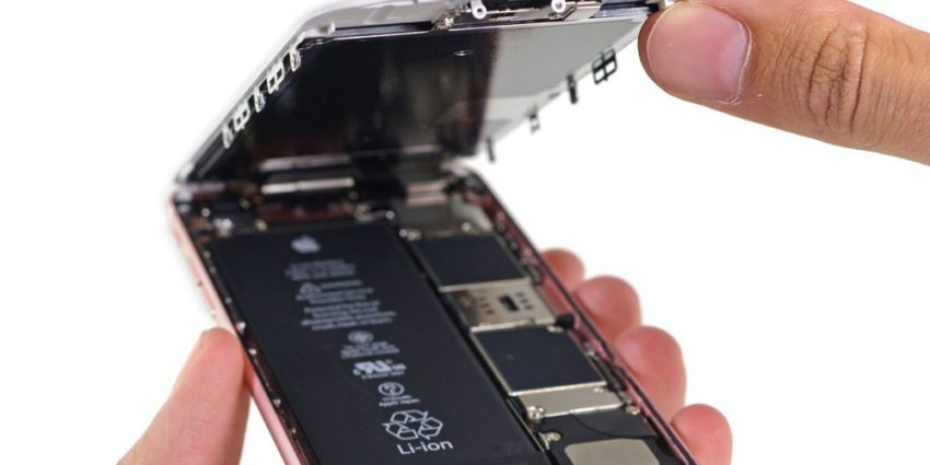 iphone 6s batterie 850x425 Apple poursuivi sur la question du ralentissement volontaire des anciens iPhone
