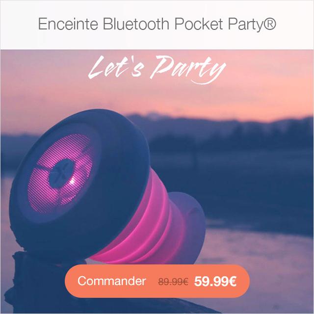 pocket party app4shop Sky Clear : Coque iPhone 7 & 7 Plus, super fine avec protection décran